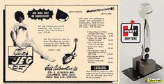 """JEGS """"Throw-Back-Thursday"""". Check out this ad from 1967!   We still sell the same great names today as we did then.   Take a look at our selection of Hurst Billet Plus shifters for Camaro, Mustang, Challenger, and more! Click here: http://www.jegs.com/p/Hurst/Hurst-Billet-Plus-Shifter/745815/10002/-1"""
