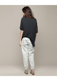 would i wear these baggy R13 bleach jeans? hell, yeah.