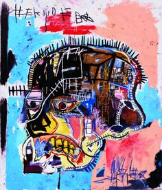 Jean-Michel Basquiat (American, 1960-1988), Untitled, 1981. Acrylic and oilstick on canvas, 205.7 x 175.9 cm.