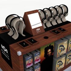 Headphone Display stands
