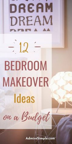 12 Easy DIYs to cozy up your bedroom. Learn how to decorate your bedroom on a budget.