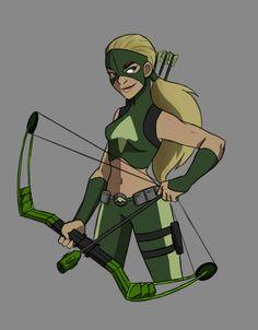 I hear that Artemis has an eight pack. I hear she's shredded - by emkayohh