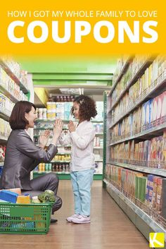 "Have you ever wondered how to get your family involved with your couponing efforts?"" This marketing acronym has been around for decades and stands for &. Baby Coupons, Love Coupons, Best Money Saving Tips, Saving Money, Money Savers, Money Tips, Couponing For Beginners, Household Budget, Extreme Couponing"