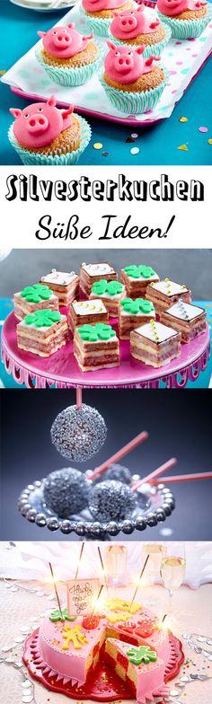 Auch an #Silvester können wir auf #kuchen einfach nicht verzichten!