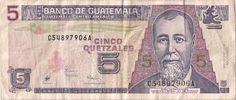 Motivseite: Geldschein-Amerika-Guatemala-Quetzal-5.00-1998