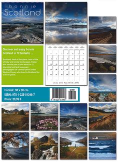 Bonnie Scotland 2015 international calendar