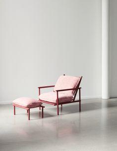 Vera & Kyte chair for Unika Auction, Photo Falke Svatun & Bjørn van den Berg