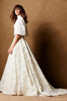 Fall 2016 Wedding Dresses & Bridal Separates by Caroline Hayden