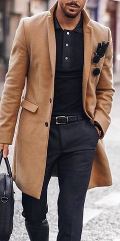 Winter Outfits Men, Stylish Mens Outfits, Blazer Outfits Men, Mode Man, Smart Casual Men, Herren Winter, Gentleman Style, Modern Gentleman, Elegant Man