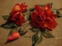 Bordado passo a passo: Como bordar com fita, rosas e outras flores