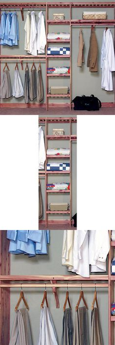 Closet Organizers 43503: Signature Hardware Deluxe Ventilated Cedar Closet  Wall Kit  U003e BUY IT