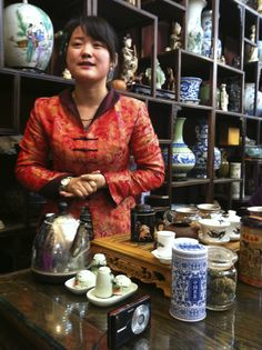Beijing tea experience