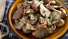 Mixed Grilled Mushrooms