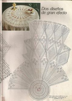 Diagram Crochet Doily Patterns With Filet Crochet, Crochet Doily Diagram, Crochet Doily Patterns, Crochet Round, Crochet Chart, Crochet Home, Thread Crochet, Crochet Motif, Crochet Doilies
