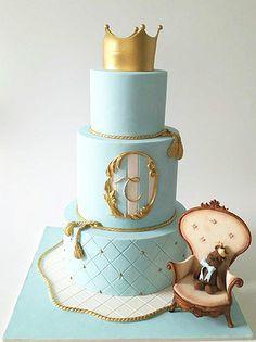 Little prince Christening cake