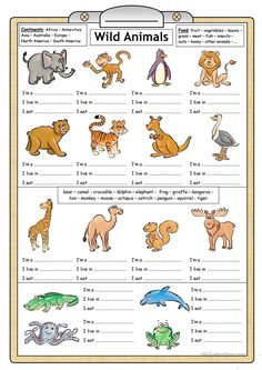 80 Free Esl Wild Animals Worksheets For Kindergarten Pdf Reading Writing Worksheet Fun Activities Games 1 Esl Worksheets For Kindergarten Worksheet