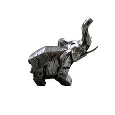 Elephant by Moe's Home Collection Elephant Sculpture, Lion Sculpture, Outdoor Wood Burning Fireplace, Contemporary Decorative Objects, Moe's Home Collection, Elephant Figurines, Home Collections, Home Remodeling, Statue