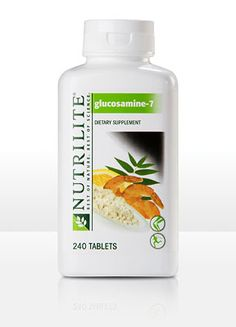 You can feel relief from stiffness after only one week with NUTRILITE® Glucosamine-7. Contains glucosamine and chondroitin in amounts clinically shown to help protect, lubricate, and cushion cartilage, with a larger amount of chondroitin/MSM blend than the leading brand (1,700 mg vs. 1,250 mg).* Includes 5-LOXIN®, clinically shown to improve joint function and flexibility in 7 days.