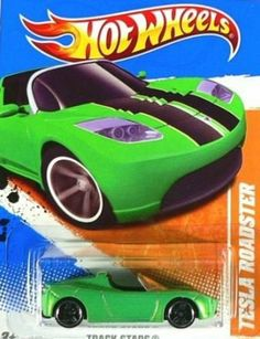 Hot Wheels 2011, Tesla Roadster 67/244. Track Stars. 1:64 Scale. by Mattel. $17.77. 1:64 Scale die cast. Ages 3 and up. Tesla Roadster