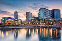 Photo about Media city is a large media and shopping complex in Salford Manchester. Image of media, quayside, ship - 51062315 Old Trafford, Manchester Hotels, Sauna Steam Room, Premier Inn, Manchester City Centre, Travel Party, Family Days Out, Salford, Hotel Stay