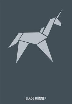 Cartazes minimalistas por Hexagonall