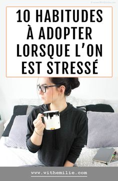 10 habitudes à adopter lorsque l'on est stressé Zen Quotes, Quotes Thoughts, Feeling Stressed, How Are You Feeling, Work Stress Quotes, Meeting Room Booking System, Stress Management Strategies, Work Related Stress, Relief Quotes