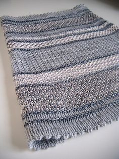 Blurred lines is the perfect little cowl, cute, warm, and looks more complicated than it really is.