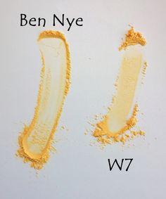 Banana Dreams Loose Powder Contour Set by w7 #4