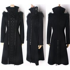 Equilibrium Corseted Coat by Punk Rave ($125) ❤ liked on Polyvore featuring outerwear, coats, jackets, punk coats, gothic coat and goth coat