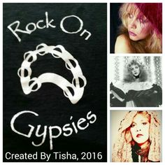 Stevie Nicks Collage Created By Tisha 04/02/16