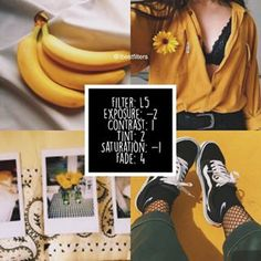 #L5bfilters / paid f. (i think) Since you guys have been asking for a yellow feed here's a filter that looks really nice for pictures with yellow combined with white/black colors — COMENT BELOW WHAT KIND OF FILTERS DO YOU WANT TO SEE NEXT!