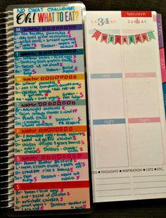 THM week long menu + no cheat challenge!