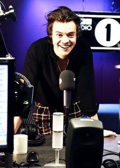 Harry Styles at BBC Radio 1