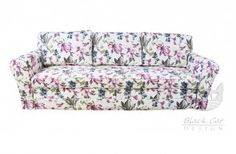 #Sofa FLOWER bardzo prosta w pięknej tkaninie. Stworzy orginalny wystrój naszego salonu.