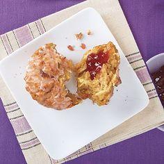 Apple-Oatmeal Muffins | MyRecipes.com