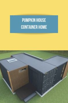 An interview with the builder of a furnished, modular container home from Russia. This innovative design has some cool ideas to potentially emulate. Container Pool, Container Cabin, Container House Design, Shipping Container Buildings, Shipping Container Home Designs, Shipping Containers, Tiny House Plans, House Floor Plans, Pumpkin House