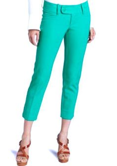 Lilly Pulitzer Luxury Capri Pants in Star Teal Blue #LillyPulitzer #CaprisCropped