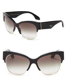 9fd7376efc1 Prada Sunglasses. Prada SunglassesCat Eye ...