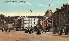 Undated picture of Guildford Square, Rothesay.