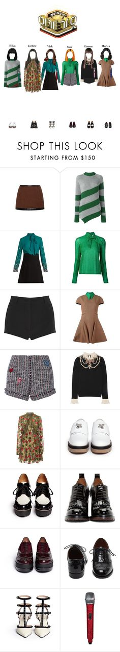 """《Goodbye Stage》 StarZ -  Lucky Baby @인기가요 Inkigayo"" by starz-official ❤ liked on Polyvore featuring Philosophy di Lorenzo Serafini, Marco de Vincenzo, Miu Miu, Delpozo, Givenchy, Steve J & Yoni P, Gucci, Anna Sui, Alexander Wang and Marc by Marc Jacobs"