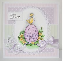 Mrs B's Blog: Easter Chick - Lili of the Valley DT