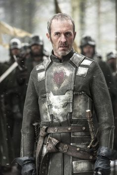 King Stannis of House Baratheon first of his name, rightful king of the andals, the rhoynar and the first man, lord of the 7 kingdoms and protector of the realm.