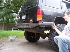Custom rear bumper build - Page 2 - NAXJA Forums -::- North American XJ Association