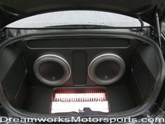 JL Audio 2008 Dodge Charger