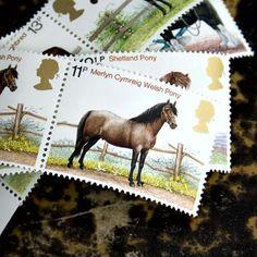 Famous Horse Breeds British Commemorative by 3rdshelffromthetop