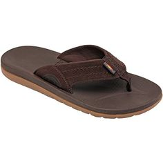 a38d51032 Mens Molded Rubber - Dark Brown (US Men s Rainbow Sandals