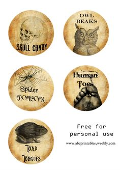 halloween free labels - Buscar con Google