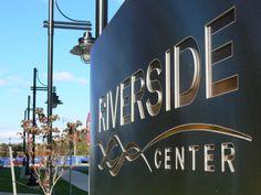 Riverside Signage : Hill Studio