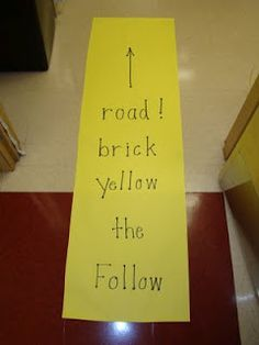 Follow the yellow brick road to some great ideas for teaching Wizard of Oz!