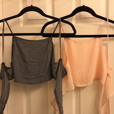 Brandy Melville tie tops! I have more too! Price firm Brandy Melville Tops